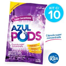 Super Decantador AZULPODS 50ml - Kit c/ 10