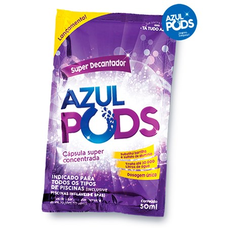 Super Decantador AZULPODS 50ml