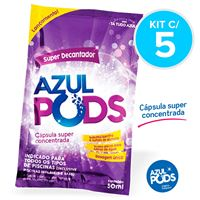 Super Decantador AZULPODS 50ml - Kit c/ 5