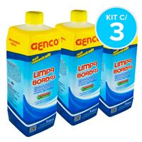 Combo Limpa Bordas Genco - Kit c/ 3