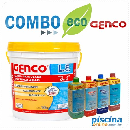 Combo Eco Genco - Exclusividade PiscinaOnline