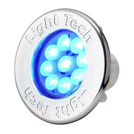 Refletor Smart Power Led RGB - Acabamento Branco - Light Tech