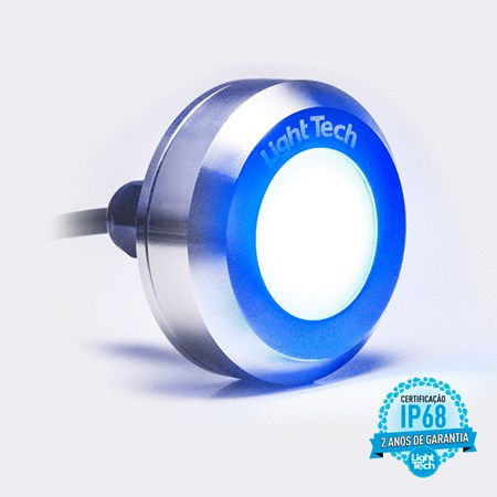 Tiny Led Colorido 20W Inox - Light Tech