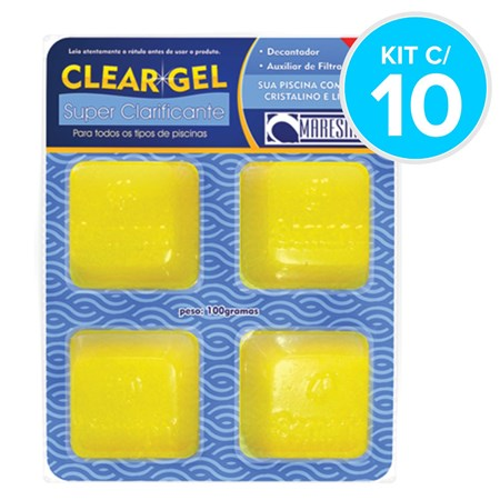 Clear Gel Super Clarificante - Maresias - Kit c/ 10